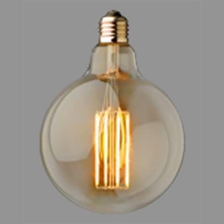 Globe Lamp LED Gold Finish 2100k